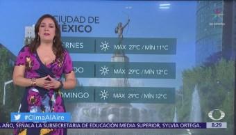 Clima Al Aire: Pronostican nublados y lluvias en el Valle de México