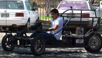 Estudiantes universitarios desarrollan automóvil eléctrico en Colima