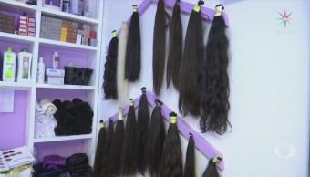 Compran cabello de feligreses a bajo precio