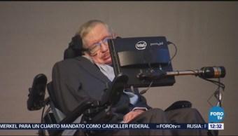 Comunidad científica británica recuerda el legado de Stephen Hawking