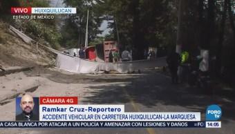 Confirman Dos Muertos Accidente Huixquilucan