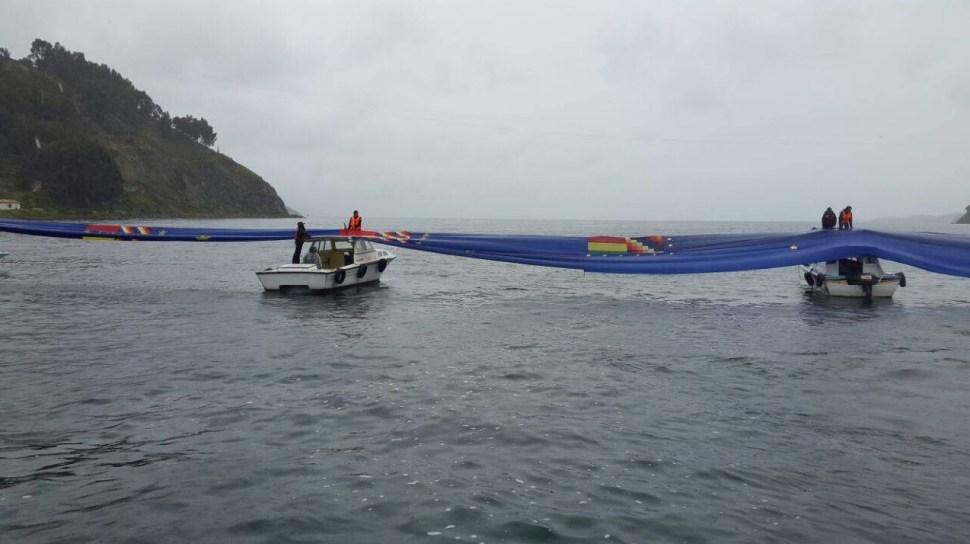 Bolivia despliega bandera récord en apoyo de su demanda de mar a Chile