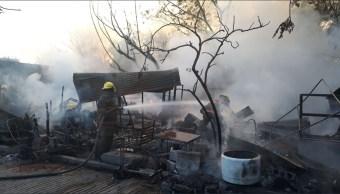controlan incendio en san sebastian guadalupe