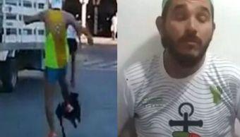Video de corredor pateando a perro causa indignación