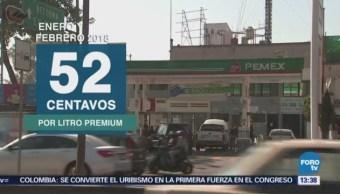 Cre Costo Gasolina Aumenta Febrero