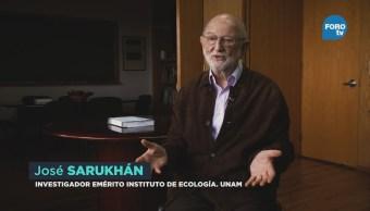 Influencia José Sarukhán Investigaciones Ecología México