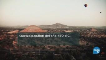 Conjunto Quetzalpapálotl zona arqueológica Teotihuacán Palacio