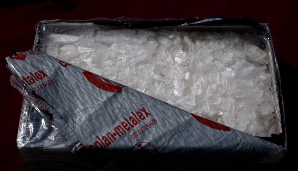 ONU: Crece producción de metanfetamina en México con destino a Estados Unidos