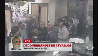 Critican a PGR por difundir video de Anaya en SEIDO