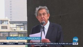 Cuauhtémoc Cárdenas Pronuncia Contra Reforma Energética