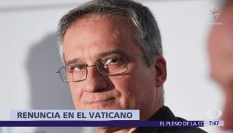 Darío Viganó presenta renuncia a la Secretaría de Comunicación del Vaticano