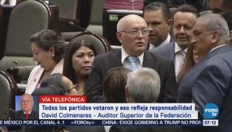 David Colmenares no permitirá presiones durante su trabajo en la ASF