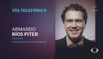 Denise Maerker entrevista a Armando Ríos Piter
