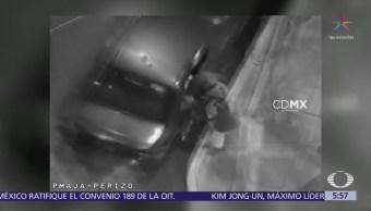 Detienen a ladrón de automóviles en la delegación Iztacalco, CDMX
