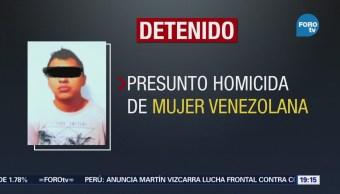 Detienen a presunto asesino de 'scort' en la CDMX