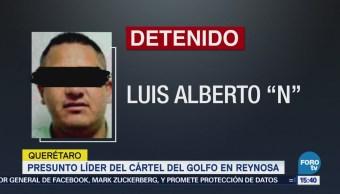 Detienen en Querétaro al presunto líder del Cártel del Golfo en Reynosa