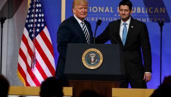 Trump apoya proyecto de presupuesto; conjura la parálisis gubernamental