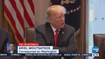 Donald Trump hace declaraciones sobre aranceles y el TLCAN
