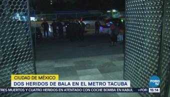 Dos Heridos Bala Metro Tacuba Cdmx