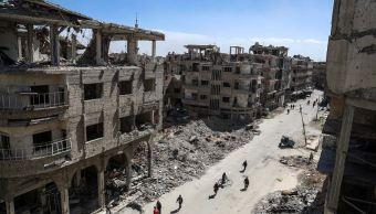 Régimen sirio aísla Duma, principal ciudad rebelde en afueras de Damasco