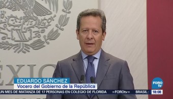 Eduardo Sánchez asegura que el proceso electoral sólo incumbe a mexicanos