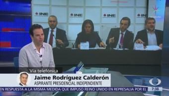 'El Bronco' acudirá al INE y al TEPJF para resolver fallo sobre firmas