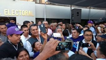 Margarita Zavala y Jaime Rodríguez acuden a audiencia ante INE