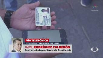 'El Bronco' Zavala y Ríos Piter, confiados en obtener candidatura independiente