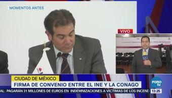 Ine Conago Firman Pacto Civilidad Elecciones