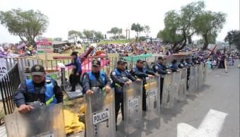Más de 9 mil elementos de la SSP-CDMX resguardan Iztapalapa