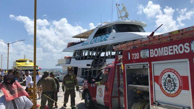Descartan riesgo por artefacto explosivo hallado en embarcación en Q. Roo