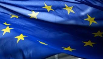 Foto: Bandera de la Unión Europea, 20 enero 2019
