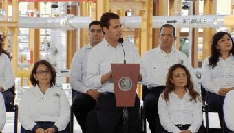 Cancelar reforma energética es volver a un modelo caduco, dice Peña Nieto