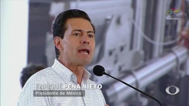 EPN defiende la Reforma Energética en Veracruz
