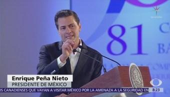EPN inaugura la 81 Convención Bancaria en Acapulco