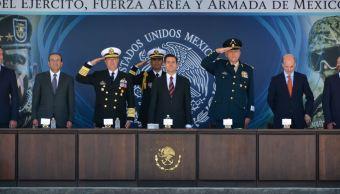EPN mantendrá presencia de Fuerzas Armadas