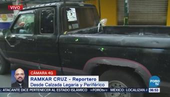 Asesinan a joven en Calzada Legaria y Periférico, CDMX