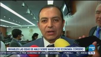 Ernesto Cordero dice que es grave error implementar políticas de Ortiz Mena