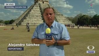 Esperan Descenso Kukulkán Chichén Itzá