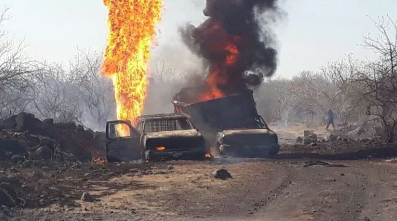 Explosión de toma clandestina deja un muerto y un herido en Guanajuato