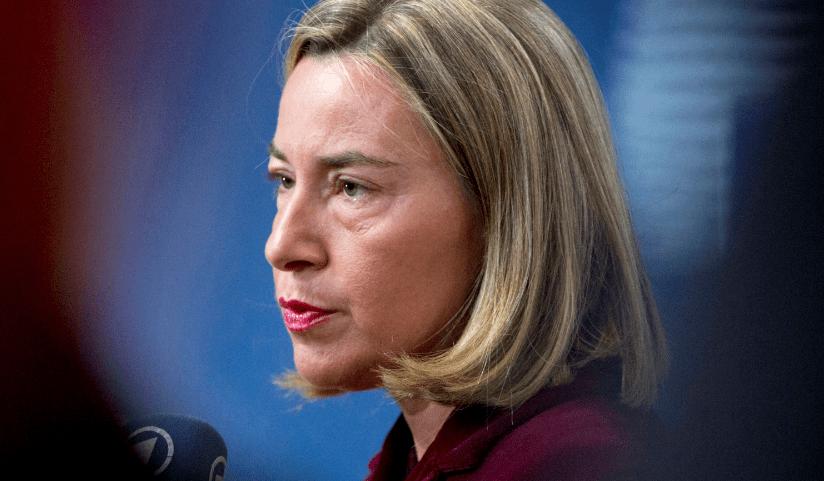 Mogherini Guerra comercial con Estados Unidos sería un desastre