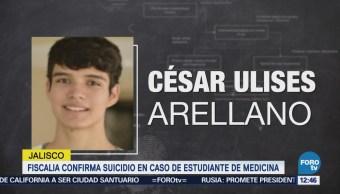 Fiscalía de Jalisco confirma suicidio del estudiante de Medicina