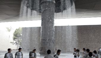 Fuente central del Museo Nacional de Antropología CDMX será restaurada