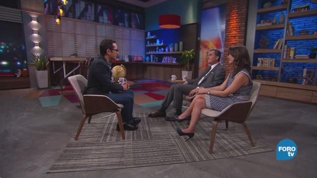 Genaro Lozano entrevista a Natalia Saltalamacchia y a Ulises Canchola