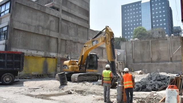 finaliza demolicion edificio genova 33 delegacion cuauhtemoc