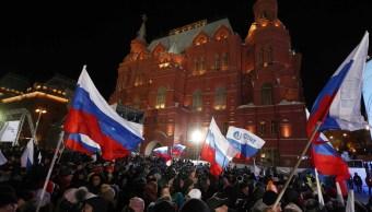Putin encabeza los resultados de la elección en Rusia