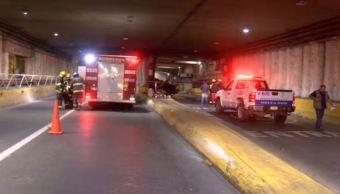 accidente tunel guadalajara muertos hombre herido