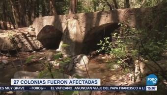 Hallan Piedras Obstruyendo Red Agua Potable Magdalena Contreras