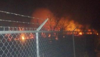 incendio afecta operaciones del aeropuerto de chiapas