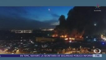 Incendio deja 64 muertos en centro comercial de Kemerovo, en Siberia